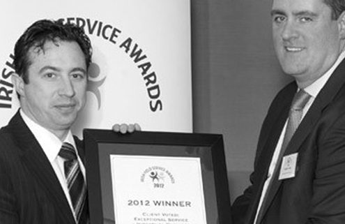EMR was today voted by its customers as a winner of the prestigious 'Exceptional Service' category at the annual Irish Field Service Awards.