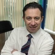 Derek Glynn, COO of EMR, this year's award winners at NISO