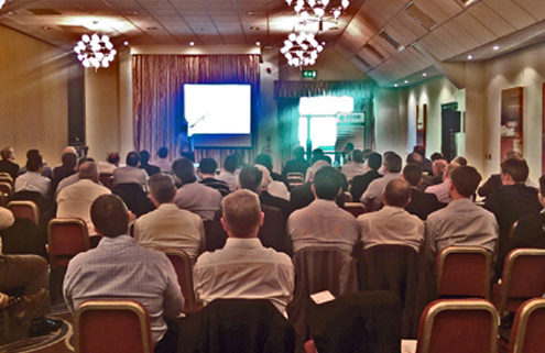 EMR's Mark QUINN today presented to a major conference on the UK water industry