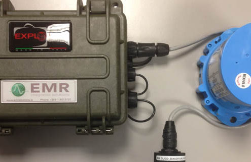 Chlornet - turbidity measurement from EMR