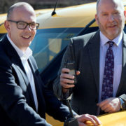Pic l-r: Alan Feenan, sales director, EMR with Paul Friel, telecoms services manager, ESB Telecoms Services