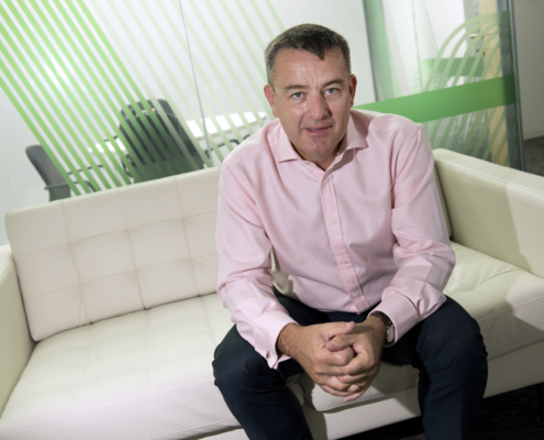 Mark Quinn announces a contract with Affinity Water in the UK
