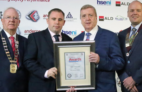 EMR picks up sixth successive award at the National Irish Safety Organisation's Annual Conference