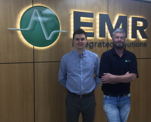 Brian Martin and Ronan Campion join the EMR team